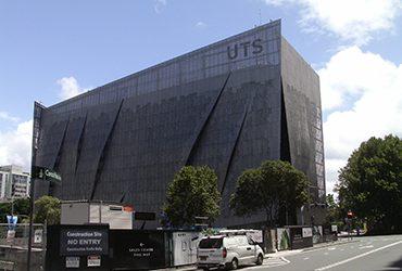 UTS, Gehry e l'istituto di Tecnologia di Sydney