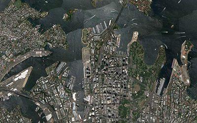 Sydney, caratteristiche tessuto urbano